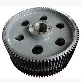 China High Tolerance Helical Bevel Gear , Custom Forged stainless Steel big wheel supplier