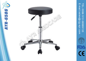 China Stainless Steel Hospital Bed Accessories Gas Spring Hospital Patient Stool supplier