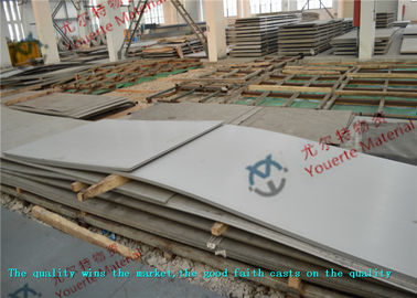 China Mirror No.1 2B ASTM GB DIN Polished Stainless Steel Sheet , Hot Rolled 06Cr18Ni11Ti Steel Plate supplier