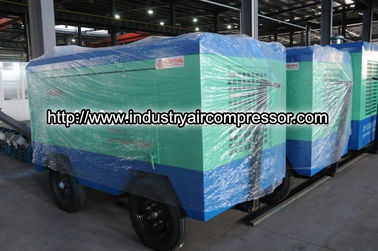 China Powerful electric  mining air compressor piston type 10m³/min 7 bar 65kw cvfy 10/7 supplier