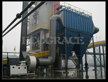 China Long Bag Pulse Jet Dust Collector Equipment For Chemical Industry / Waste Incinerator supplier