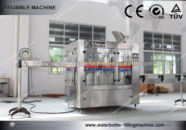 China Rotary 3 in 1 Tea , Beer , Water Bottle Filling Machine For Industry Soft Drink Bottling supplier