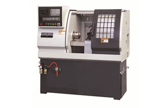 China Hard guide way CNC Computerised Lathe Machine with high rigidity line cutter supplier