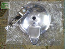 China Suzuki Motorcycle GN125 Rear Brake GN125 Back hub cover Aluminum factory