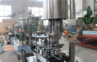 China Stainless Steel Linear Filling Machine CSD Bottle Automatic Capping Machine factory