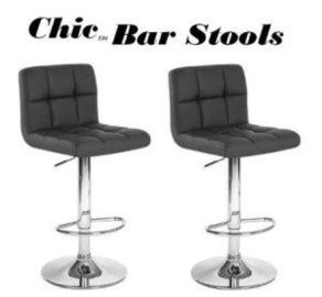 China Modern Adjustable Synthetic Leather Swivel Bar Stools (HC1277) factory