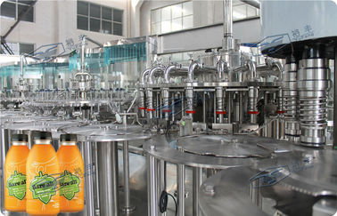 China Industrial Auto Beverage Filling Equipment Plastic Bottle Filler Machine 3-in-1 factory