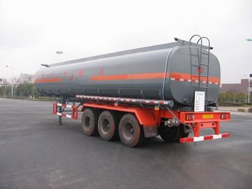 China 43cbm Liquid Tank Truck Semi-Trailer Anti Seismic For Chemical Industries factory