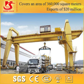 China double girder gantry crane Manufacturer Direct sell outdoor use gantry crane factory