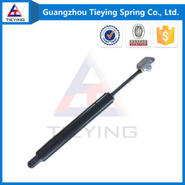 China 300-50-10-28 mm Black  Lockable Gas Struts / Gas Lift Steel Connector factory